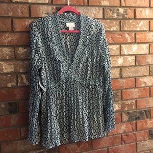 Wortington Nwt Tunic Top Size XL